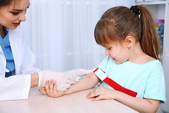 Кровь из вены у ребенка