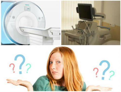 УЗИ или МРТ