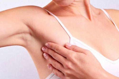 Воспаленный лимфоузел под грудью
