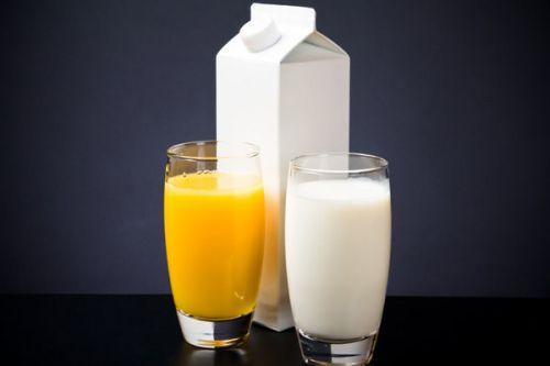 Молоко и сок