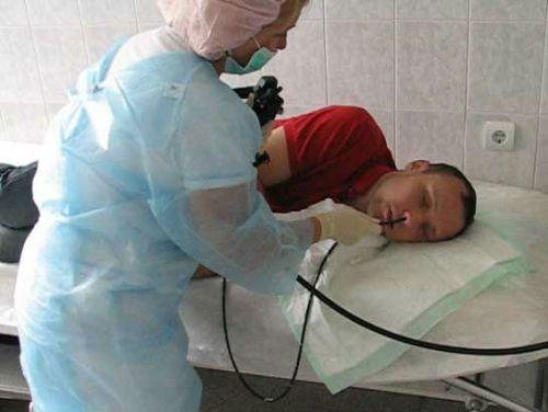 Гастроскопия через нос