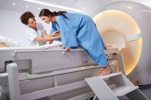 Окончание сеанса МРТ