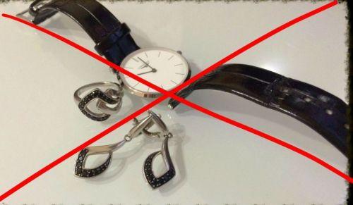 Запрет часов и украшений при МРТ