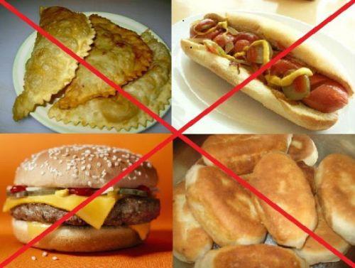 Запрет вредной пищи