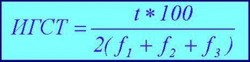 Формула степ-теста