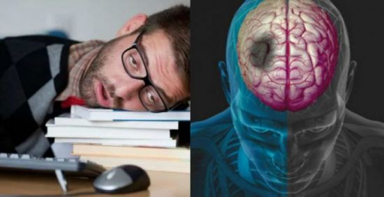 Ишемия мозга, уставший мужчина