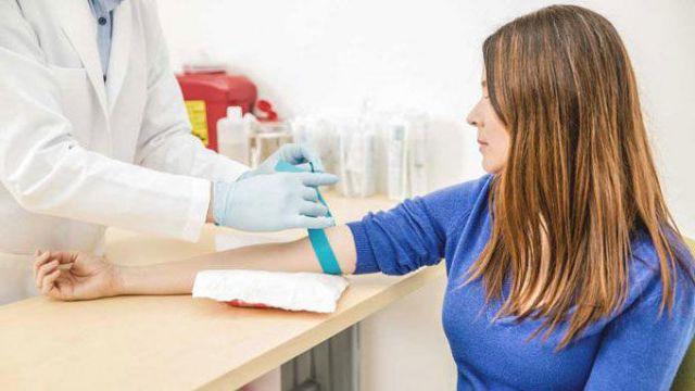 Забор крови из вены