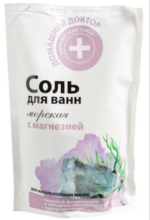 Соль для ванн с магнезией