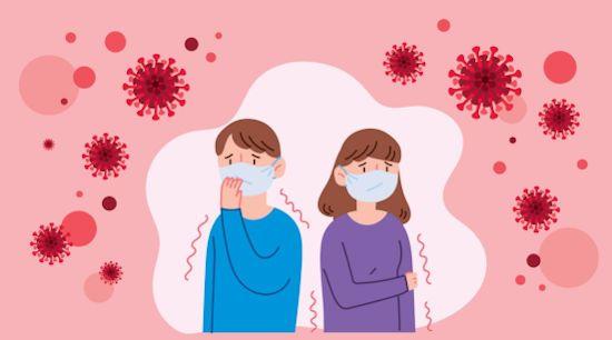Вирусы и люди в масках