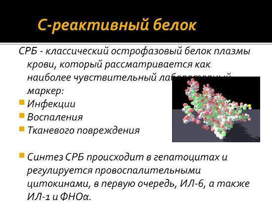 О С-реактивном белке