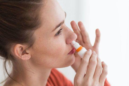 Забрызгивание носа