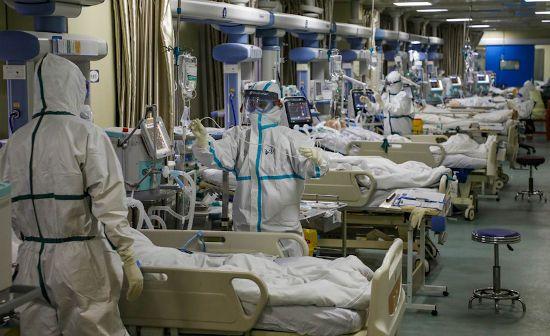 Палаты с больными людьми