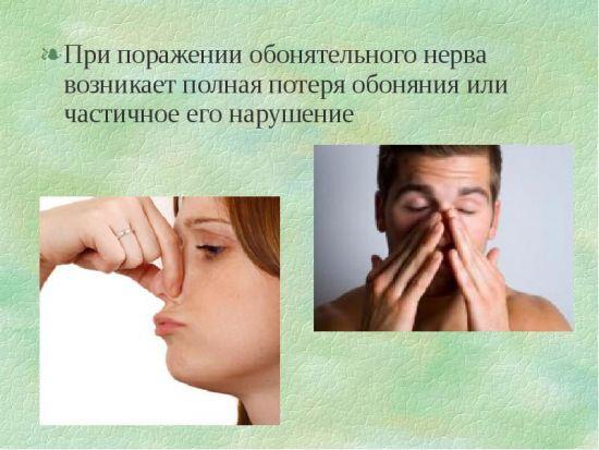 Люди трут нос