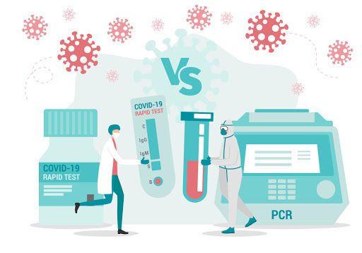 Инфограмма об анализах на коронавирусе