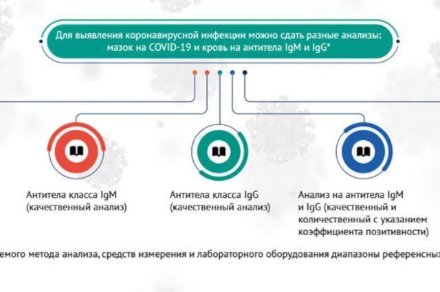 Виды анализов на антитела