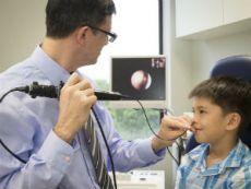 Эндоскопия носа ребенку